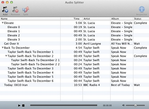 how to put a files in audiobooks on itunes