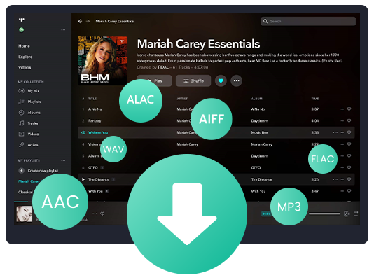 download Tidal music on mac